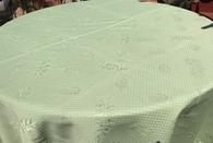 """110"""" Round tablecloth, no seams"""