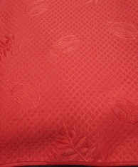 """Round 110"""" Red Provence Tablecloth"""