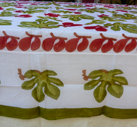 Fig Cotton Organza Tablecloth