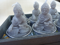 Buddha Votive Light Grey