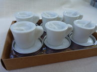 Teacup Votive Set