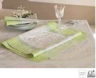 tablecloth and tablerunner