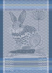 Lapin Design Bleu Kitchentowel