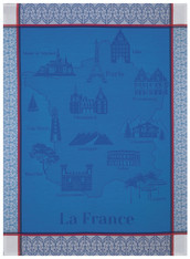 Balade En France Blue Kitchentowel