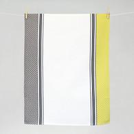 Ciboulette Blanc fougere Kitchen Towel