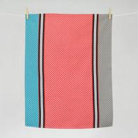 Ciboulette corail Kitchen Towel