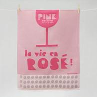 La vie en rose Kitchen Towel