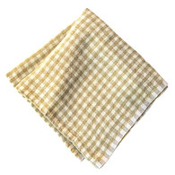 Gingham Napkins (Ivory/White), Set of 4