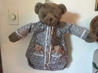 Teddy Bear pyjama bag