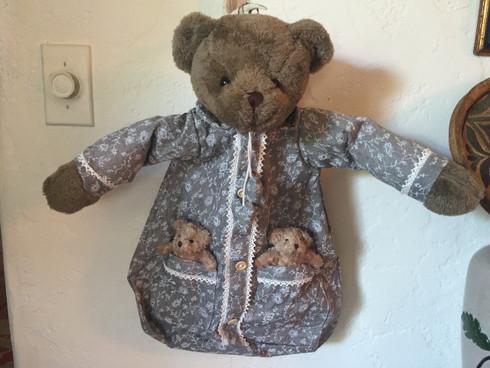 Teddy Bear pyjama bag
