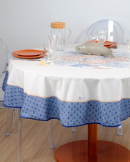 "69"" Round tablecloth"