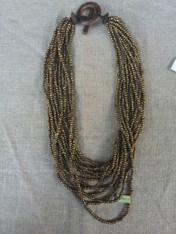 Copper Multi Thread Necklace