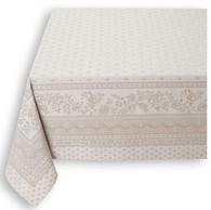 Durance Raw Ecru Tablecloth