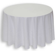Durance White Tablecloth