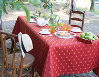 "Mistral  Coated Tablecloth 63"" x 98"" ( Available in 4 different colors)"