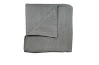 Sabbia Gridelin Coated Tablecloth