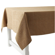 Pepite Ocre Linen Tablecloth