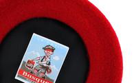 Laulhère Béret Petit Basque Hermès Red