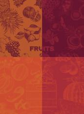Fruits Rouges Kitchen Towel