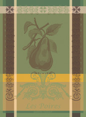 Poires Vertes Kitchen Towel