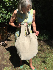 Big Natural Linen Bag