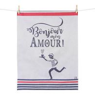 Bonjour Mon Amour - Kitchen Towel