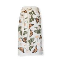 Bistro Apron Monarchs + Milkweed