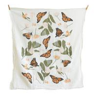 Monarchs + Milkweeds Towel
