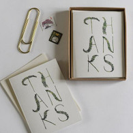 Fronds Thank You Cards