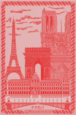 Paris Rouge Tanger Kitchen Towel