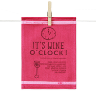 Tapas Napkins - It's Wine O'clock (Set of 6)