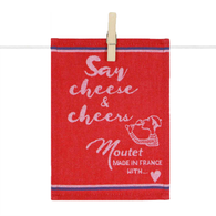 Tapas Napkins -Say Cheese and Cheers (Set of 6)
