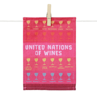 Tapas Napkins - United Nations of Wines (Set of 6)