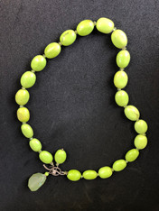 Lime Stone Necklace
