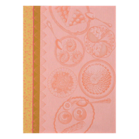 Delices Gourmands Kitchen Towel - Peach