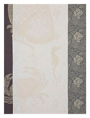 Fonds Marin Crab Kitchen Towel Pearl