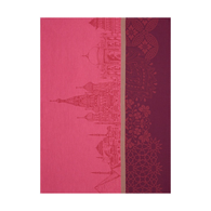 Evasion Kitchen Towel Pink