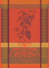 Physalis Rouille Kitchen Towel