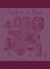 Vignerons de France Muscat Kitchen Towel