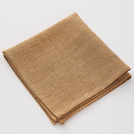 Pepite Ocre Linen Napkins, Set of 6