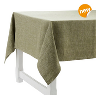 Pepite Vert Linen Tablecloth