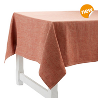 Pepite Rouge Linen Tablecloth