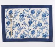 Granada Blue Placemats, Set of 6