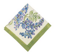 Wisteria Green Blue Napkins