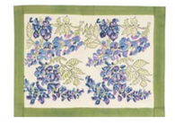 Wisteria Green Blue Placemats, Set of 6