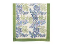 WIsteria Green Blue Table Runner
