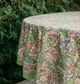 Round tablecloth pattern