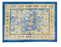 La Mer Yellow Blue Placemats, Set of 6