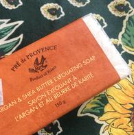 Pré de Provence Shea Butter & Argan Oil Exfoliating Soap 150g