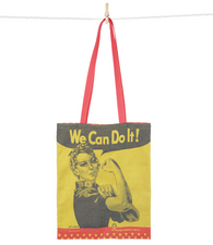 "Rosie the Riveter ""We can do it"" Tote Bag"